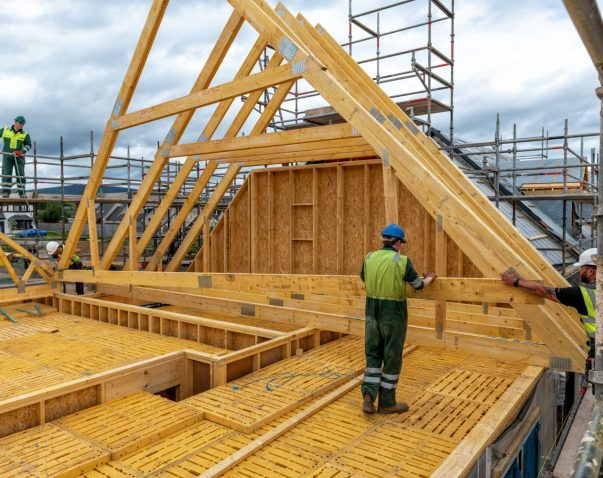 Benefits of a timber frame home